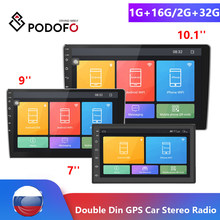 Автомагнитола 2Din Podofo Android Car radio Multimedia Player De Vídeo Universal auto Estéreo магнитола 2 din GPS WI-FI Bluetooth USB