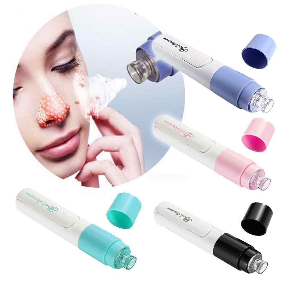 Elektryczny twarzy porów zaskórnika Cleaner Remover trądzik mikrodermabrazja maseczka do twarzy zaskórnika ssania Remover