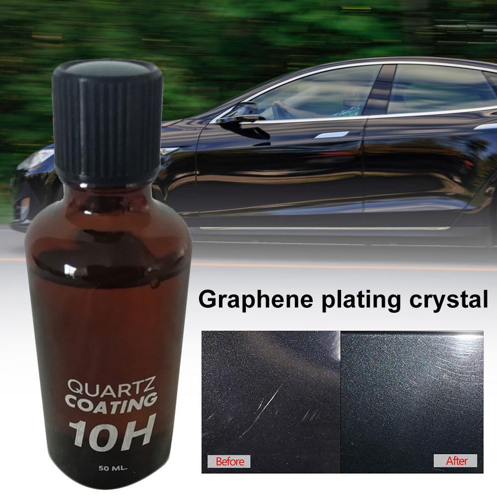 30/50ML 10H Auto Car Body Care Liquid Quartz Coating Anti-scratch Polish Paint