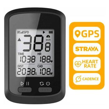 цена на Bike Computer G+ Wireless GPS Speedometer Waterproof IPX7 Road Bike MTB Bicycle Bluetooth ANT+ with Cadence Cycling Computers