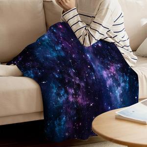 Image 3 - Uzay atmak battaniye mistik gökyüzü yıldız kümeleri Cosmos bulutsusu göksel manzara sanat sıcak mikrofiber battaniye