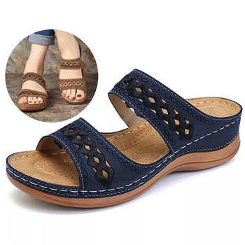 Women Sandals Fashion Wedges Shoes For Slippers Summer With Heels Flip Flops Beach Casual