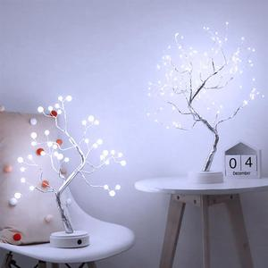 108 Led Table Tree Lamp Copper