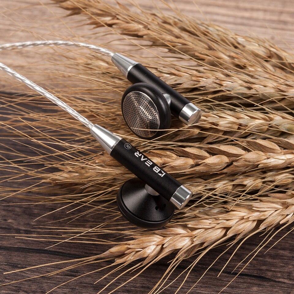 06 אוזן נייט ב Wired מתכת מעטפת האוזניות Kbear Hifi אוזניות אוזניות עם מצופים כסף בכבלים KB 06 אוזניות לסמארטפון Pc (3)