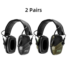 Outdoor sports electronic shooting earmuffs anti-noise shock sound amplification tactical hearing protection headphones foldable