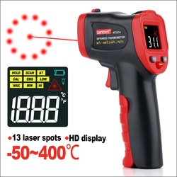 RZ Infrared Thermometer Non-Contact Temperature Meter Gun 0-600C Handheld Digital Industrial Outdoor Laser Pyrometer Thermometer