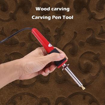 24 In 1 Löten Eisen Carving Brandmalerei Werkzeug Holz Präge Brennen Löten Stift Set Schweißen Tipps Kit