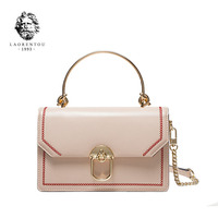 LAORENTOU New women leather bag Fashion Chain cowhide material women handbags tote women leather shoulder Crossbody bag