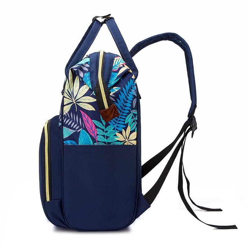 Snailhouse Diaper Bag Backpack Zipper Large Capacity Travel Maternity Bags Mummy Baby Nappy Bag Multifunctional Nursing Handbag