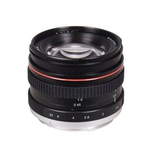 Image 4 - 50mm f/1.4 מצלמה עדשת USM גדול צמצם סטנדרטי האנשה פוקוס מצלמה עדשת פיזור נמוך עבור Canon 100D 200D 350D