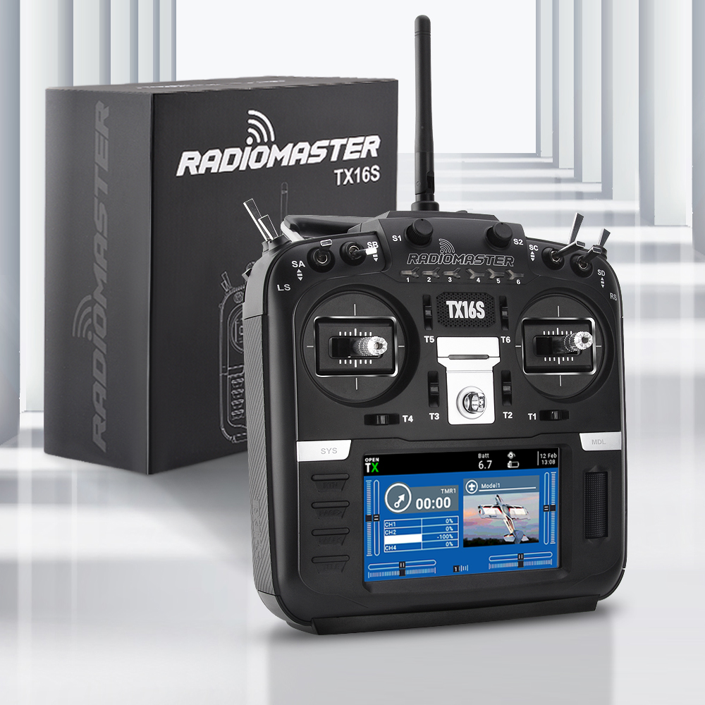 In Stock RadioMaster TX16S Hall TBS Sensor Gimbals 2.4G 16CH Multi-protocol RF System OpenTX Radio Transmitter For RC Drone