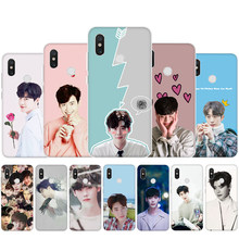 Idol Lee Jong Suk Transparante Case Voor Xiaomi Redmi Note 4X 5 6 7 8 9 Pro Max 8T 5A Prime Back Cover(China)
