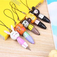 Cartoon Universal Mini Soft Mobile Phone Straps Rabbit Pendant Cell Phone Accessories for USB camera Car keys(China)
