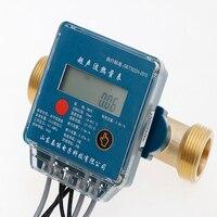Dn15-dn40 ar condicionado central para aquecimento central uitrasonic medidor de calor hret