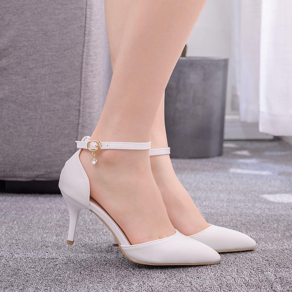 7 Cm Stiletto Pointed High Heels