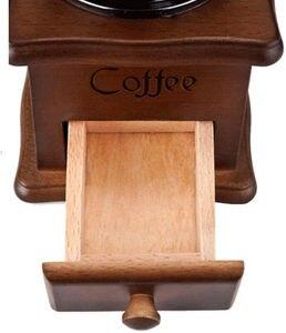 Image 5 - Moulin à café, poivre et épices à main en métal, à manivelle manuelle Vintage, 2020