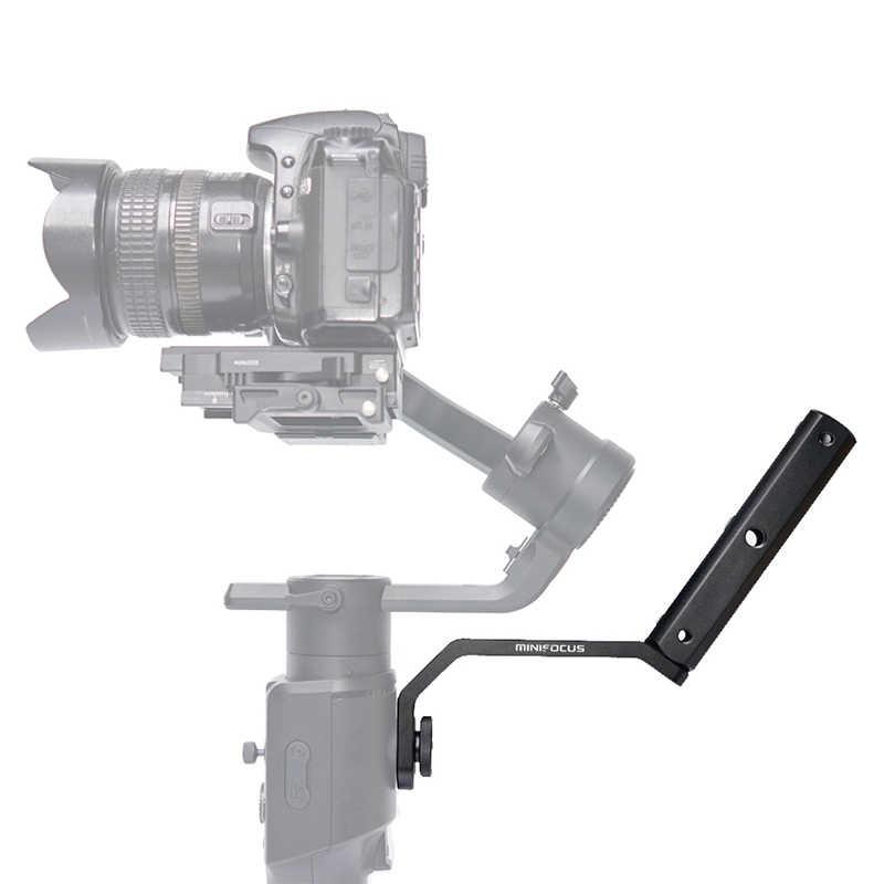 Полношейный порт ручка удлинитель монитор микрофон светодиодный видео светильник крепление для Feiyu Ak4000 Ak2000 Moza Air 2