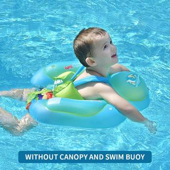 New Upgrades Baby Swimming Float Inflatable Infant Floating Kids Swim Pool Accessories Circle Bathing Toddler Rings Summer Toys Activity & Gear