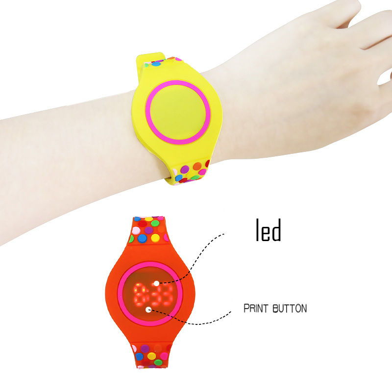 Children Watch Fashion High Quality Kids Watch Gifts For Children Led Display  Cute Cartoon Watch For Kids Christmas Gift