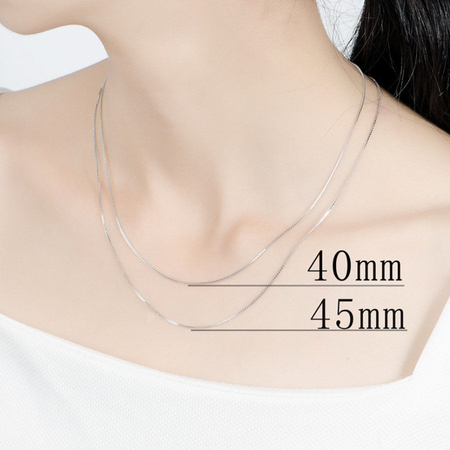 silver chain for women  (5)
