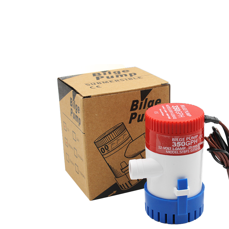1pc 12V 24V 12V 350 500 700 1100 GPH Bilge Pump Marine Submersible Water Pump Boat Sump Pump Marine Boat Accessories in Marine Hardware from Automobiles Motorcycles