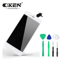 OXEN AAA+ LCD Touch Screen for iPhone 6 Plus 6Plus 6P 5.50'' Black/White Assembly LCD Display Digitizer No Dead Pixel + Tools цены