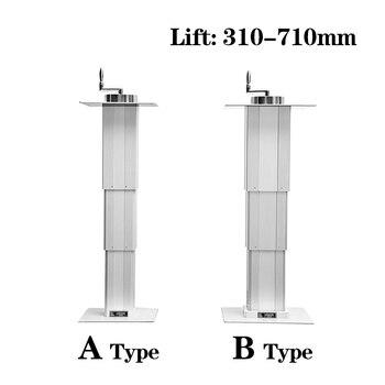 Tatami lift manual lifting table Max 65kg lift platform Lift 310-710mm for Manual adjustment height