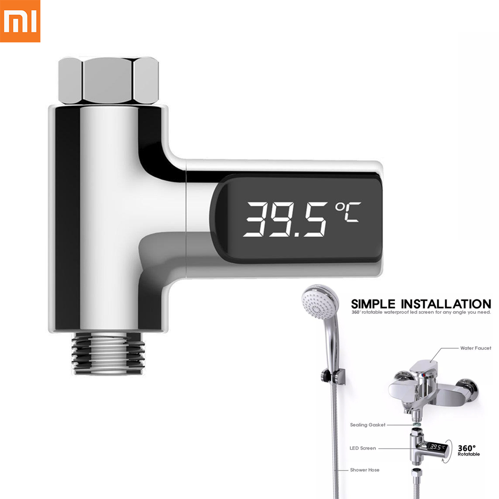 Xiaomi Youpin LED Display Home Water Shower ThermometerTemperture Meter Monitor Kitchen Bathroom Smart Home Baby Care