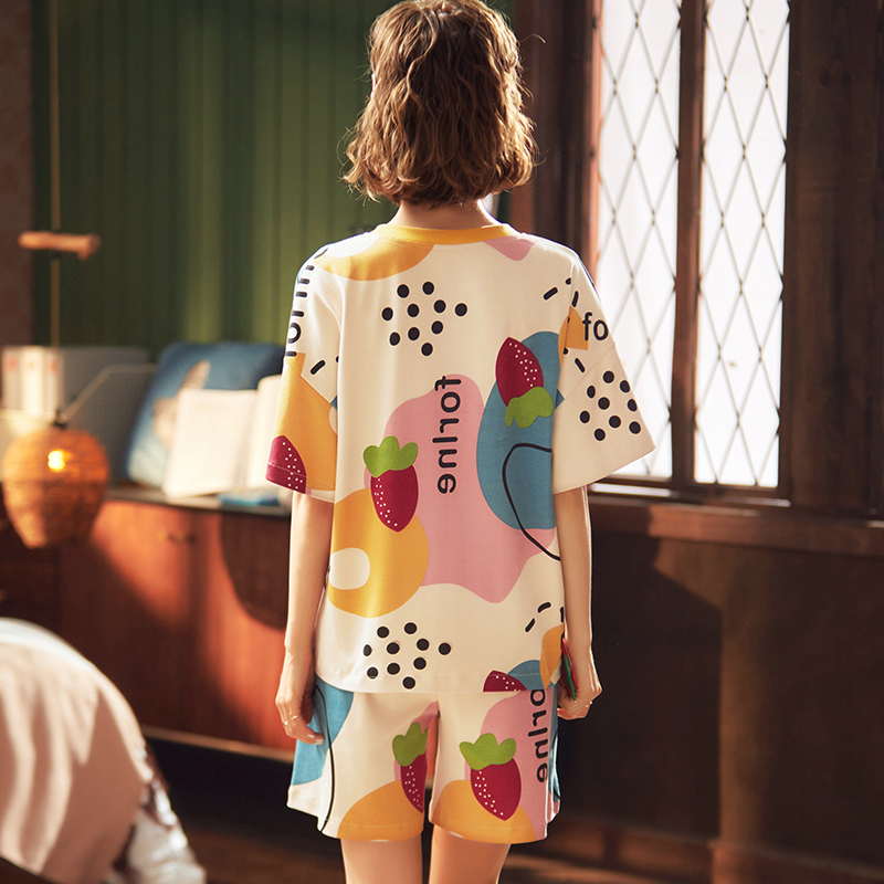 GVN Rocks Women's Pajamas Short Sleeve Sets Sleepwear