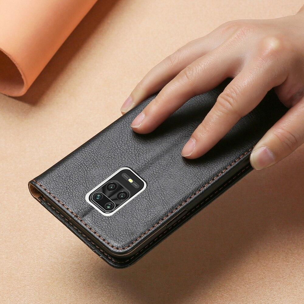 Модный чехол кошелек для Xiaomi Redmi Note 9S 9 Pro Max, кожаный силиконовый чехол накладка для Redmi Poco M2 Pro, флип чехол с картой|Бамперы| | АлиЭкспресс
