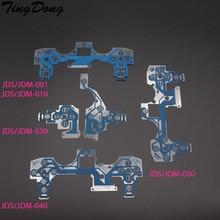 TingDong 20pcs For PS4 Controller Conductive Film Flex Cable For PS4 Pro Slim Joystick Repair Part JDS JDM 001 011 030 040 050