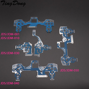Image 1 - TingDong 20pcs עבור PS4 בקר מוליך סרט Flex כבל עבור PS4 פרו רזה ג ויסטיק תיקון חלק JDS JDM 001 011 030 040 050