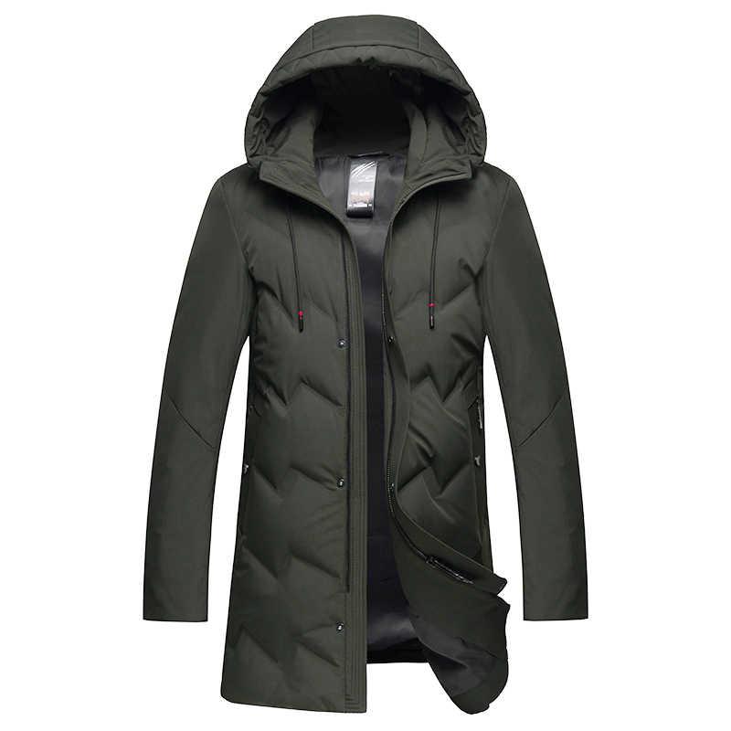 プラスビッグサイズ 10XL 8XL 6XL 5XL 4XL 2019 高品質の冬の男性ダウジャケットスタイリッシュなパーカーコート厚く暖かい男性の服