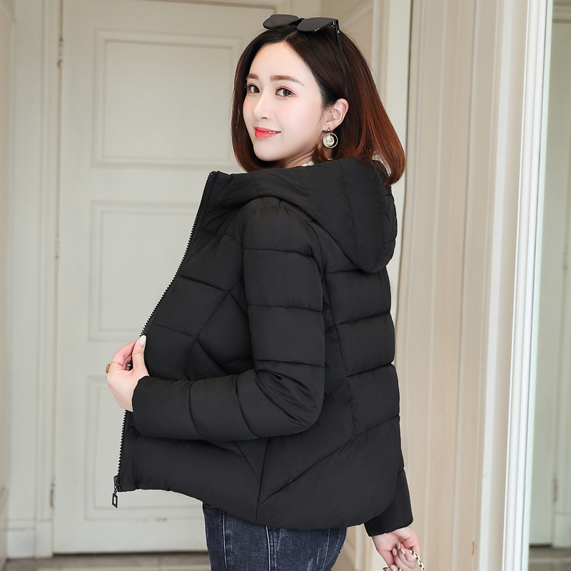 2020 Winter Women Jacket Office Ladies Oversized Hooded ...