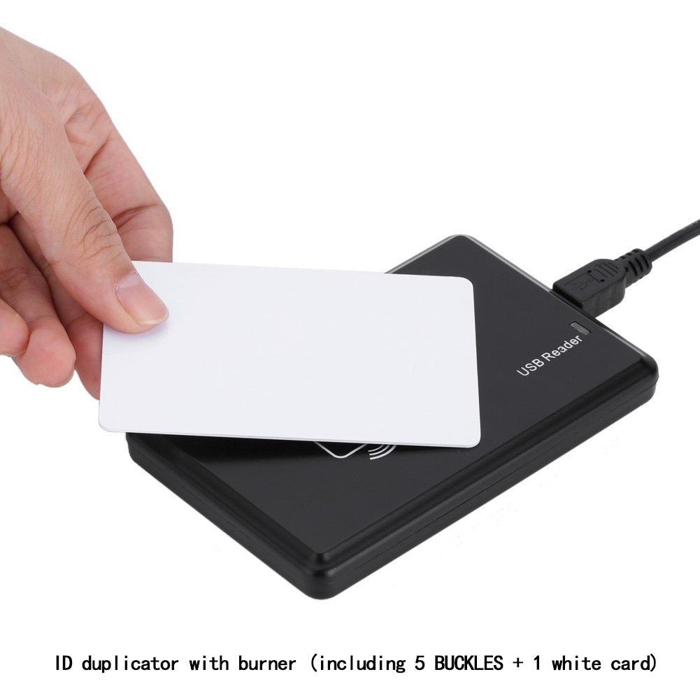 125 KHz RFID EM ID Card Reader Writer Copier 5 EM4305 Key Tag 1 T5577 Card ID Copier RFID Copier Card Copier Copy ID Card