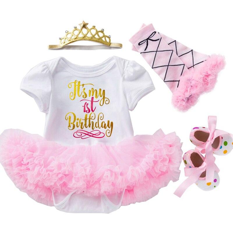 0-24m roupas da menina do bebê coroa laço vestido de princesa para o bebê 1st ano vestido de aniversário bonito roupas de bebê infantil vestido de festa 2020 quente