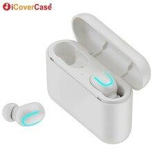 Auriculares gemelos con Bluetooth para Apple iPhone, auriculares inalámbricos con micrófono y caja de carga para iPhone 11 Pro Max X XS XR 8 7 6 6s Plus 5 5S SE 2020
