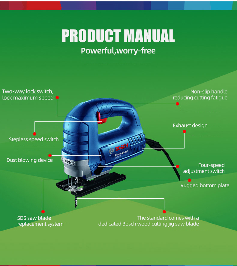Bosch Jig Saw Electric Saw specifications