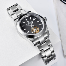 Tourbillon Mechanical Watch Men Pagani Design Automatic Watches Men 100m Waterproof Diver Clock Full Stainles Steel Reloj Hombre