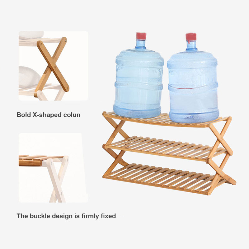 Plant Stand Shelf Foldable Simple Multi Layer Shoe Rack Shoe Rack Storage Organizer for Home Garden Patio Storage Shelf JA55