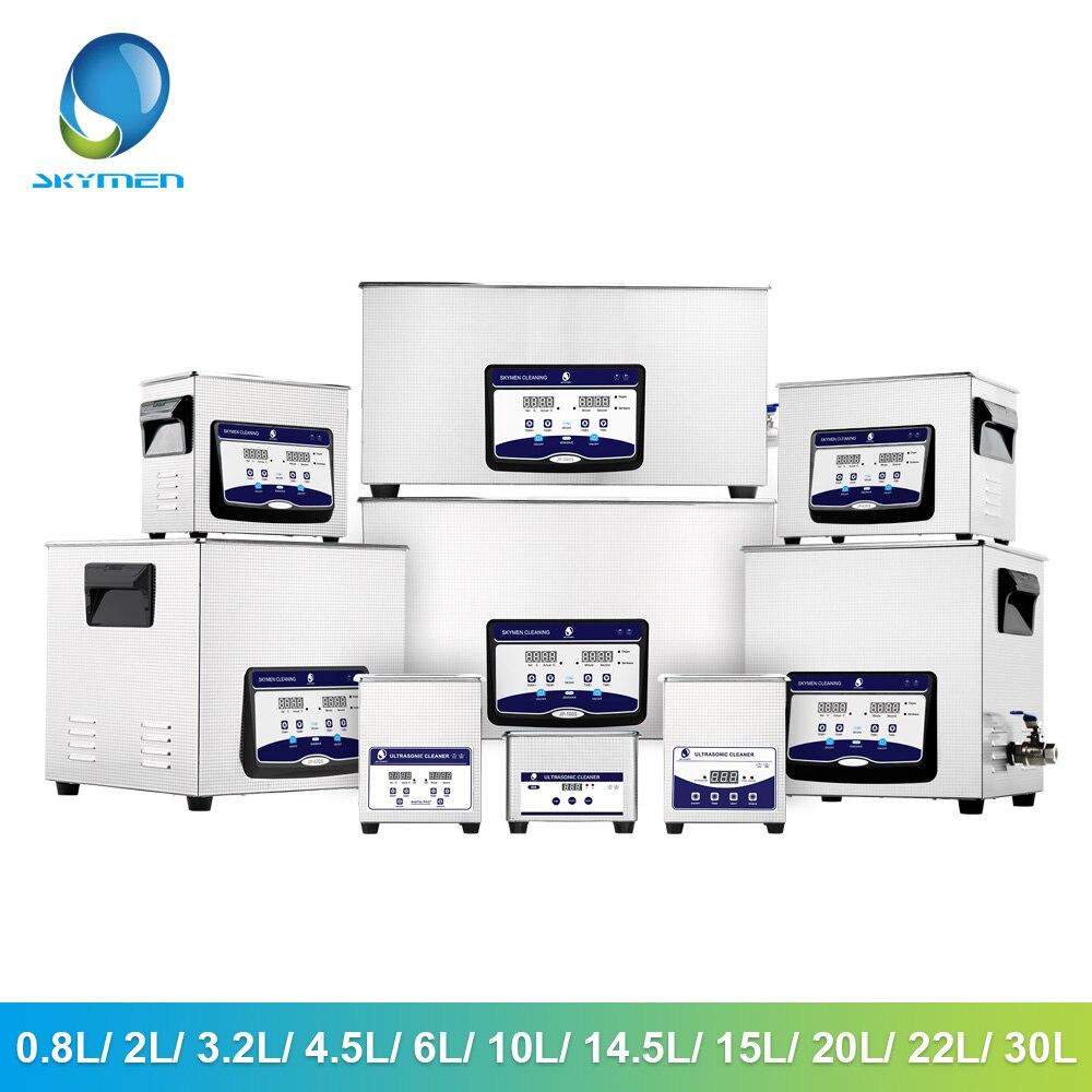 SKYMEN NEW Ultrasonic Cleaner Car Vacuum Cleaner 1.6L/3.2L/4.5L/ 6.5L /10L/15L/22L/30L Ultrasonic Bath Washing Auto Parts