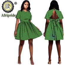 2020 африканские платья для женщин с принтом Дашики летнее вечернее