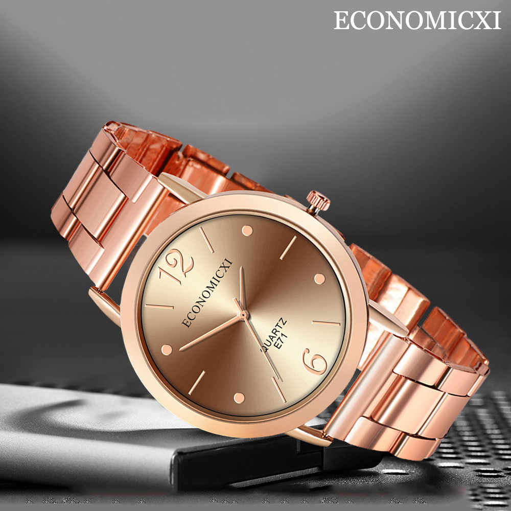 Horloge Mannen 2019 Fashion Luxe Merk Zakelijke Datum Reloj Hombre quartz casual Sport Vintage Staal Zwart Relogio Masculino
