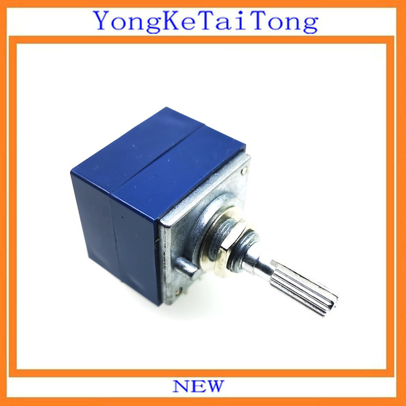 1PCS RH2702 Dual unit Rotary Potentiometer  50K 100K 250K DIP8 ALPS-in Potentiometers from Electronic Components & Supplies
