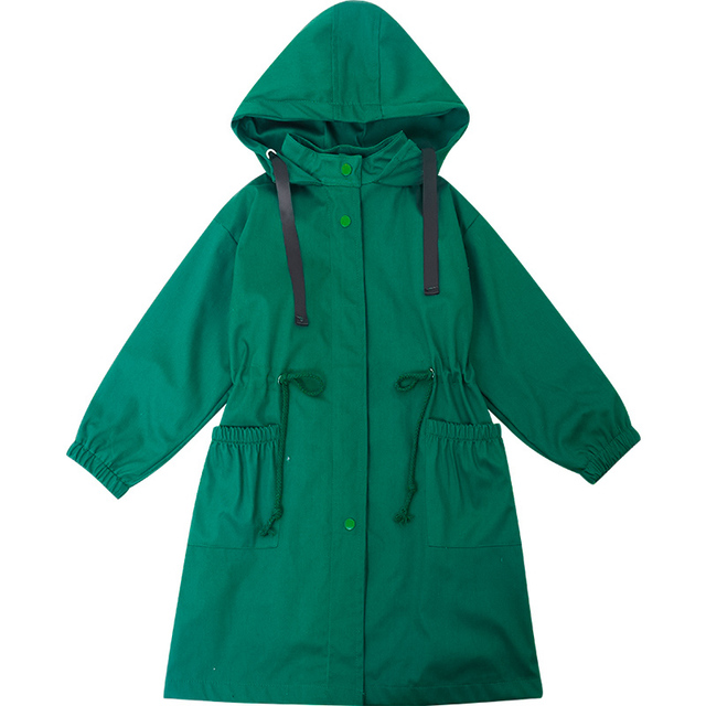 Kids Trench Coat With Hat...