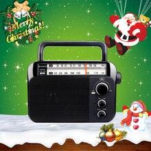 Retekess TR604 Fm/Am 2 Band Draagbare Radio Ac Powered Oplaadbare Ontvanger Met 3.5Mm Koptelefoon Aansluiting Voor De ouderen