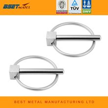 2Xstainless staal 316 boot Kayak Kano Trailer Tractor Trolley Caravan Lynch pins Linch Pin Clips Opwaaiveer mariene hardware(China)