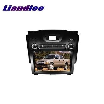 LIandlee For Chevrolet S10 S 10 2012~2017 LiisLee Multimedia TV DVD GPS Audio Hi-Fi Radio Original Style Navigation