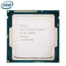 Pc bilgisayar Intel çekirdek İşlemci I5 4460 I5-4460 LGA 1150 84W 22 nanometre 100% düzgün çalışıyor masaüstü İşlemci işe yarayabilir