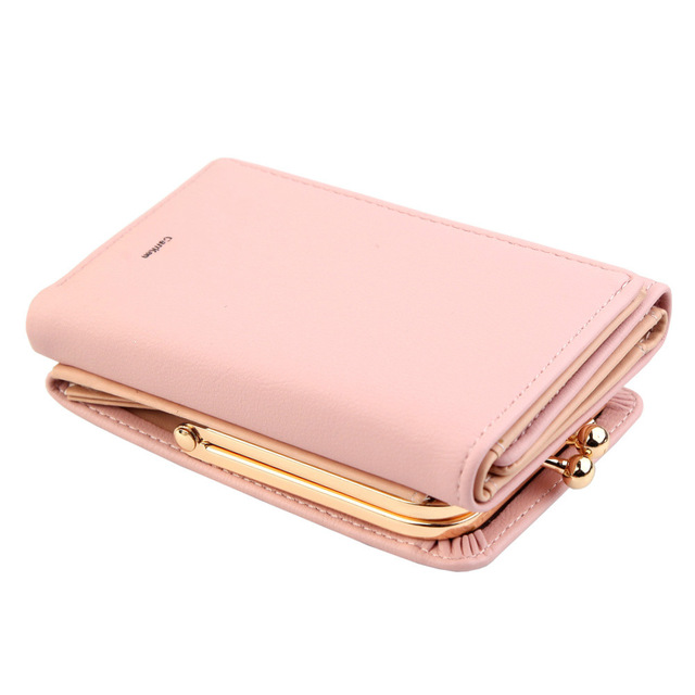 Wallet Women Lady Short Women Wallets Money Purses Small Fold PU Leather Female Coin Purse Card Holder Portefeuille
